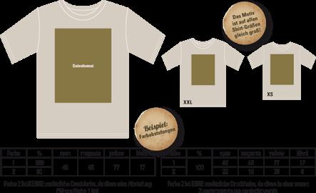Druckvorlage - Abschlussshirts, Abishirts, Abipolo